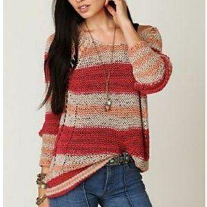 Free People Desert Moon knit Sweater (Stunning !!)